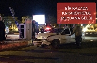 Trafik ışıkları yanmayınca kaza kaçınılmaz...