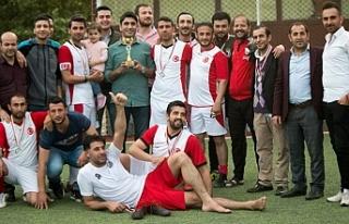 İşte Memur Sen futbol turnuvasının şampiyonu...
