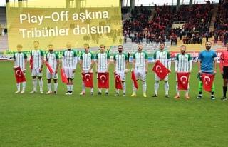 Şanlıurfaspor Play-Off ilk maçına çıkıyor...