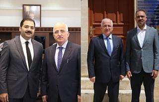 Tuna, Yeni Başkanları ziyaret etti...