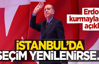 Ve Erdoğan ilk kez yorum yaptı...