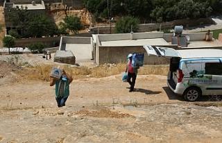 Eyyübiye'de dezavantajlı ailelere yardım eli...