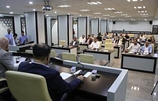 Haliliye Belediyesi meclisi 1. Oturumunu tamamladı
