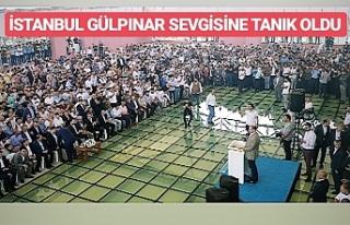 İstanbul'da ki en kalabalık toplantı...