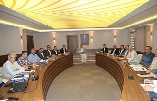 Beyazgül ilçe başkanlarıyla istişare toplantısı...