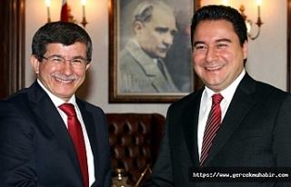 Davutoğlu'dan Babacan'a genel başkanlık...