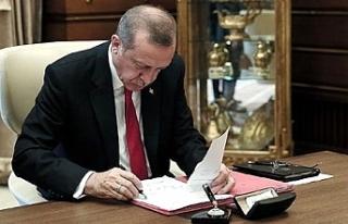 Erdoğan'dan önemli atamalar...