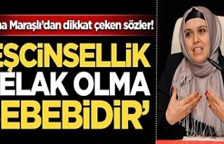 İstanbul sözleşmesine ağır gönderme...