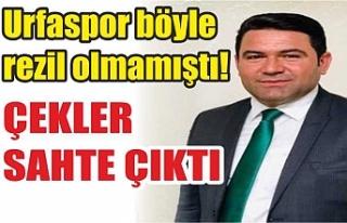 Urfaspor'u Türkiye'ye rezil ettiniz!