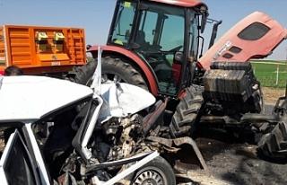 Yine traktör kazası! 1 ölü