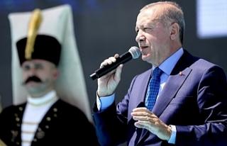 Erdoğan Malazgirt Zafer kutlamasında konuştu