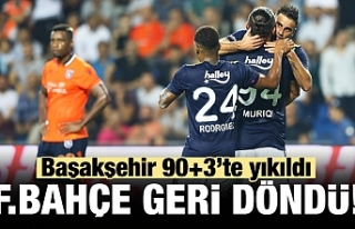 Fenerbahçe 90+3'te yıktı