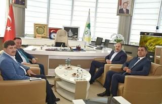 Gülpınar, Beyoğlu'nu ziyaret etti...