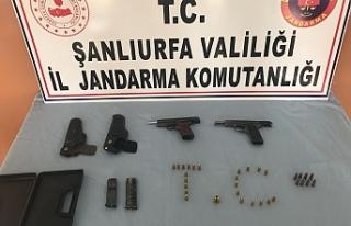 Şanlıurfa'da Silah Tacirine Operasyon