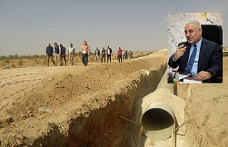 Şanlıurfa'da binlerce dekar arazi suya kavuşacak...