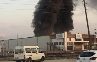Urfa'da büyük yangın
