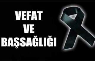 Urfa Milletvekili vefat etti