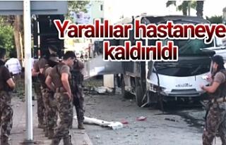 Çevik kuvvet polisine bombalı saldırı!