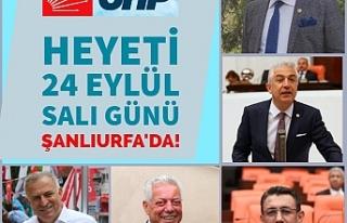 CHP URFA'YA ÇIKARMA YAPACAK...