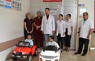Çocukların Mutlu olduğu Hastane...