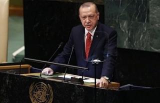 """Sosyal medyada """"Sesimiz Erdoğan"""" etiketine..."""