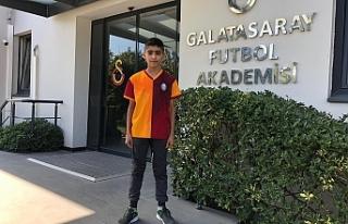Urfa'dan Galatasaray'a...