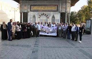 Yeşeren çınarlar İstanbul'u gezdi…