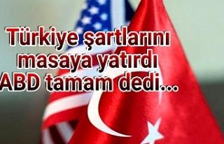 13 maddede TÜRKİYE-ABD anlaşması...