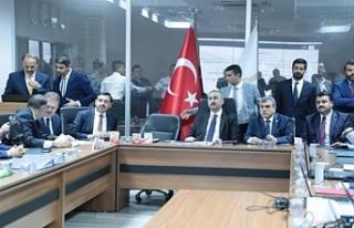Bakan Gül Şanlıurfa'da Koordinasyon Merkezinde...