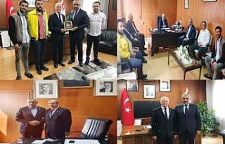 Başkan Bayık, KKTC Başbakanı Ersin Tatar'ı...