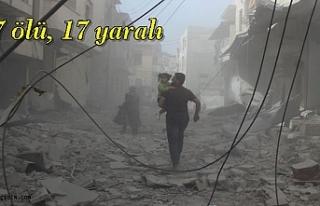 Esad Rejimi İdlib'e Saldırdı; 7 ölü, 17 yaralı