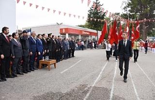 Hilvan'da, 29 Ekim Cumhuriyet Bayramı Törenlerle...