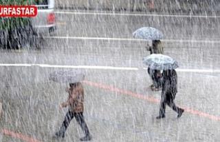 Şanlıurfa'ya Sağanak Yağış Geliyor Dikkat