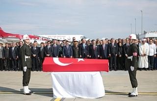 Şehit Selimoğlu memleketine uğurlandı