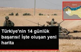 Türkiye'nin 14 günlük başarısı! İşte...