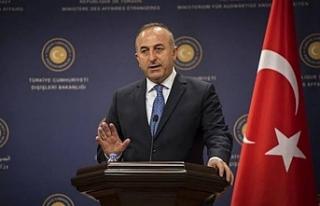 """Bakan Çavuşoğlu """"Mutabakatın gereği yapılmazsa..."""
