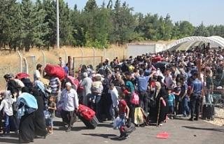 Suriyelilerin dönmesi için düğmeye basıldı...