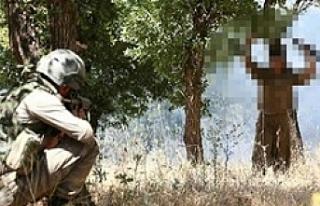 Suruç İlçe sınırında terörist yakalandı