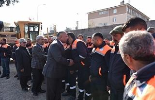 Başkan Soylu personeliyle buluştu