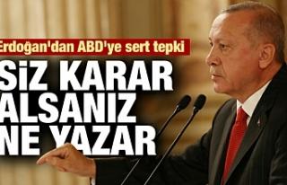 Erdoğan neleri konuştu