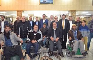 Eyyübiye Belediyesi engellileri yalnız bırakmadı