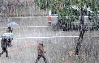 Meteoroloji kuvvetli yağış ve fırtına uyarısında...
