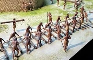 Raylı sistem yüzyıllar önce Göbeklitepe'de...