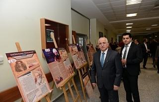 Sütçü İmam' da Türk Vakfı sergisi..