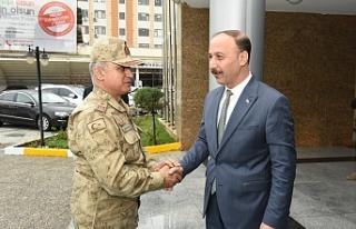 Tuğgeneral Başoğlu Şanlıurfa'da