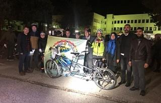 URBİTT'ten engellilere bisiklet turu...