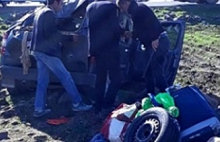 Viranşehir'de kaza 5 yaralı