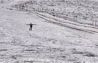 Yılın ilk karı karacadağ'a düştü