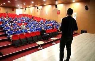 Haliliye Belediyesi personeline sağlık eğitimi...