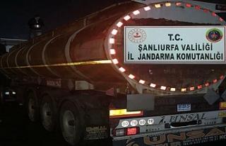 Şanlıurfa'da kaçak yakıt ele geçirildi